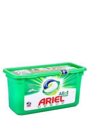 Гръцки прах капсули Ариел/Ariel Allin1 40 пера P&G Professional