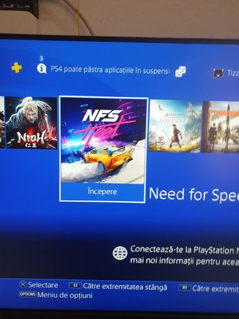 PlayStation 4 PRO ps4 pro NFS Heat The Wicher