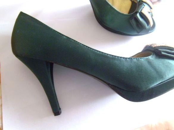 Официални сатенени обувки