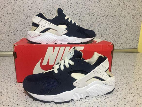 ОРИГИНАЛНИ *** Nike Air Huarache Run Edition *** Blue & White