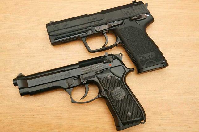 PUTERE MARE! Pistol Airsoft 4jouli Beretta/Taurus Aer Comprimat