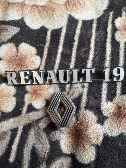 Renault 19 оригинални емблеми