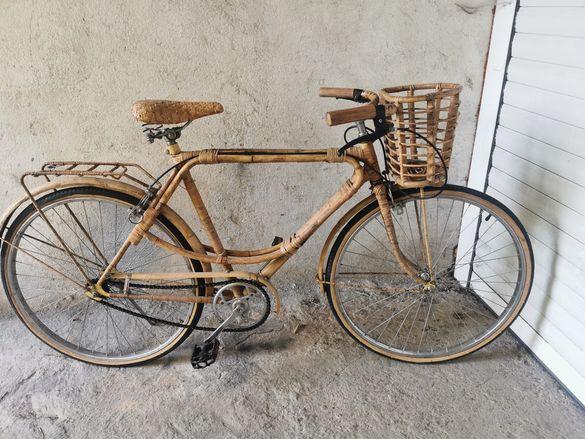 Велосипед бамбук и ратан 26 цола