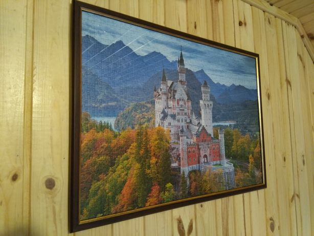 Puzzle înrămat Castelul Neuschwanstein