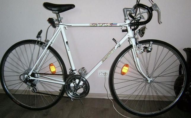 bicicleta cursiera 10 viteze, frane Winemann, roti Rigida 28, schimb