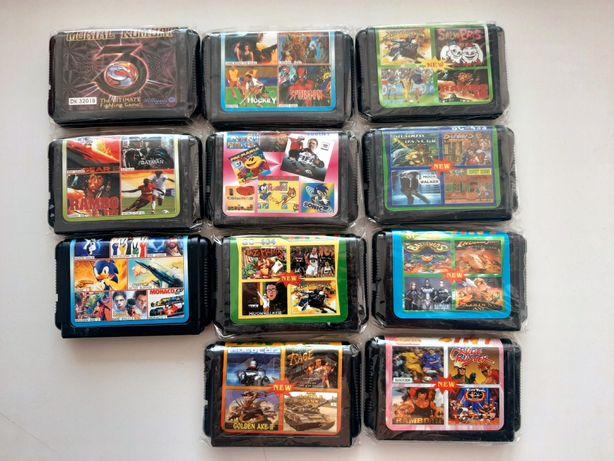 НОВЫЕ Игры на Сегу / Дискеты/Кассеты на Sega Mega Drive2