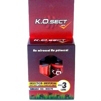 Insecticid Ko-sect foarte eficient, nu miroase, nu pateaza