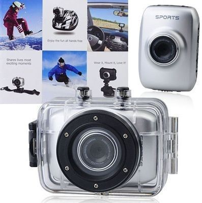 Mini camera video HD subacvatica cu Touch Screen