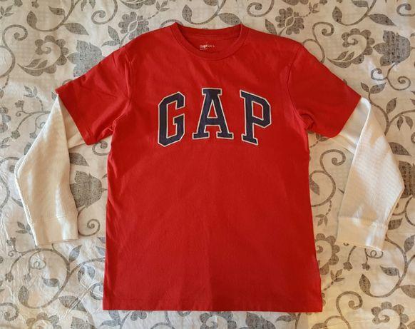 Блуза GAP червена 146см-7лв НАМАЛЕНИЕ