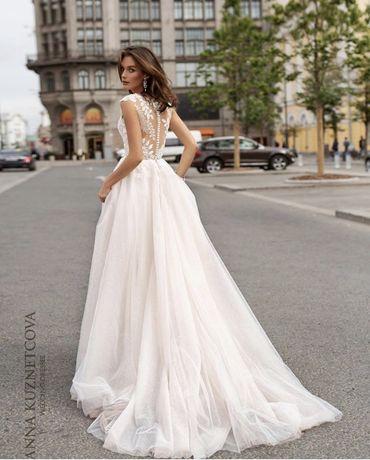 дизайнерское свадебное платье от студии Анна Кузнецова (ivorydress)