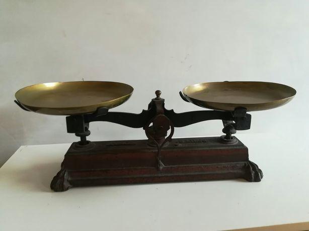 Balanta, cantar foarte vechi, perfect functional si 4 greutati.