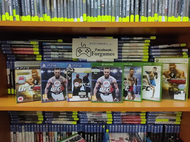jocuri consola Xbox One UFC 1 , 2 2010  PS3 UFC 3 Xbox One  UFC 4 PS4