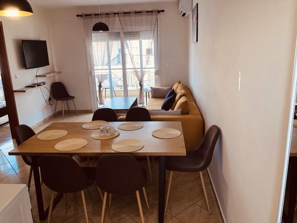 Апартамент под наем,три спални Паралия Офринио,до 8 човека