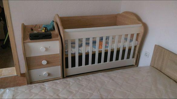 Детско легло 3в1