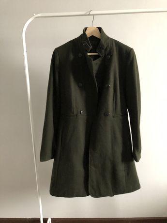 Пальто Zara 50% шерсть 46 размер