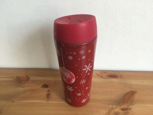 Cană / termos cafea / ceai motiv Crăciun Pepco