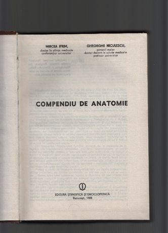 Compendiu de Anatomie