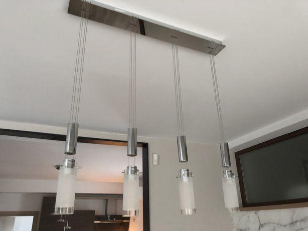 Lustra moderna , pendul , LED , lumina calda