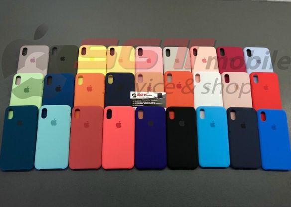 Силиконов кейс Apple Iphone X Xs Xr Xs max