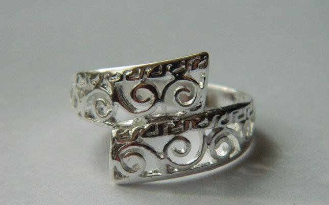X61,inel argint 925,nou/marcat,deosebit, filigranat, superb