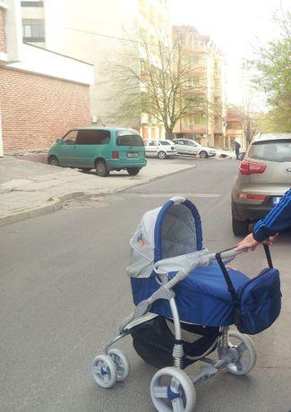 Комбинирана бебешка количка Lorelli