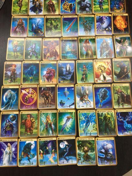 Animaterra 3 - Set complet 48 cartonase+5 holografice