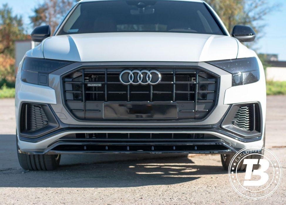 Prelungire Audi Q8 S-Line (Dupa 2019) Maxton Design negru lucios Suceava - imagine 1