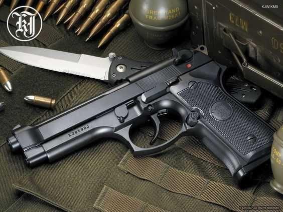 Pistol Airsoft/Fara permis/3,8j/Co2/Taurus PT92 Made in FRANCE