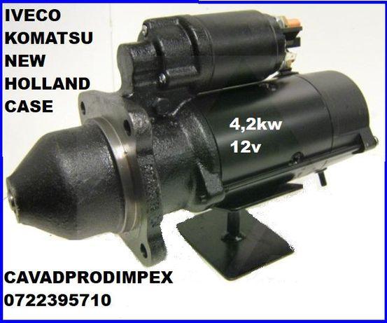 Electromotor putere 4,2kw buldoexcavator CASE,KOMATSU,NEW HOLLAND