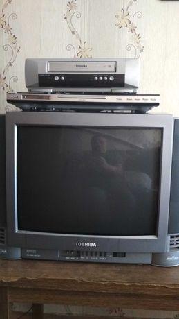 телевизор видеомагнитофон