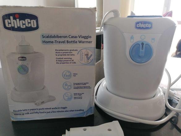 Нагревател за мляко/ храна Chicco с адаптор за кола