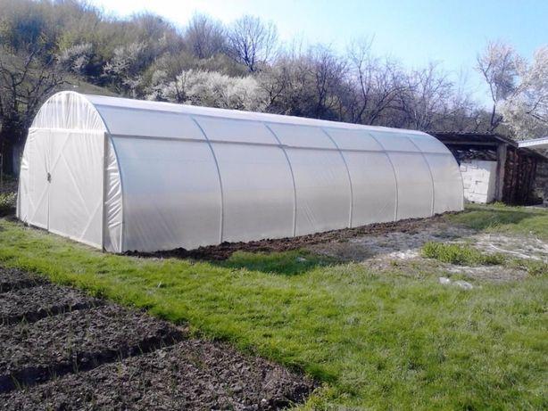 solar legume Mini-Home KS 12 m lungime x 4 m latime x 2.5 m inaltime