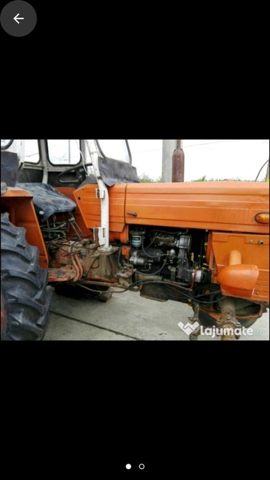 Tractor U 445 L plug disc instalație erbicidat Trifesti - imagine 1