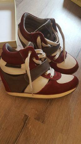 Sneakers cu platforma Calvin Klein 38