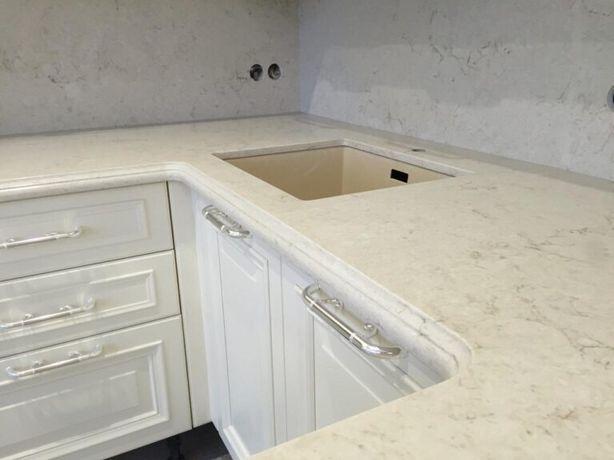 Кухонная столешница из искуственного камня в рассрочку!