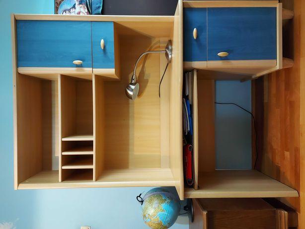 Birou din lemn, pentru elevi