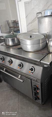 Плита электрическая для столовой,кафе,ресторанов.