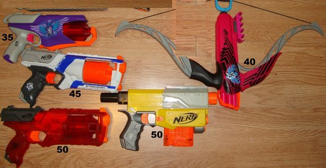 Pistol Pusca NERF Modificat + Munitie