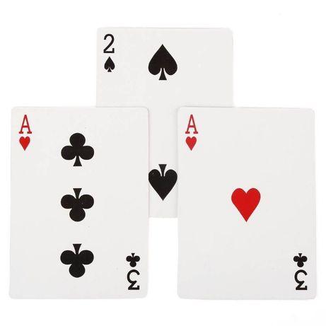Магически карти за фокус + разкриване! Ultimate 3 cards Monte