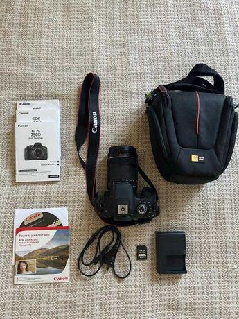 Цифровой фотоаппарат Canon EOS 750D 18-135 мм
