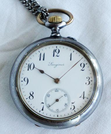 Ceas de buzunar Longines, 1905, stare exceptionala.