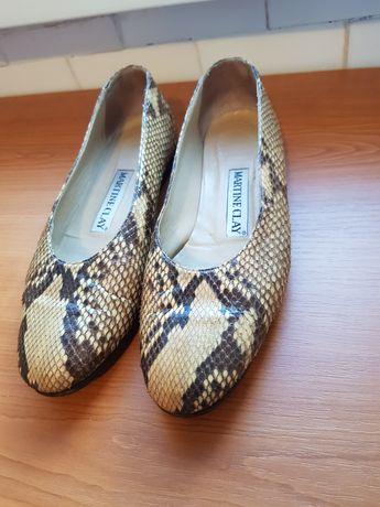 pantofi piele piton