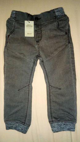 Pantaloni blugi gri noi mărime 98