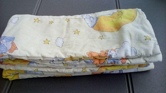 Бебешки спални чувалчета, одеала, чаршафи, обиколници, портбебе