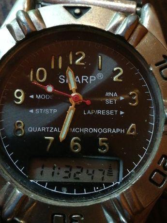 Vintage Ceas SHARP Analog-Digital Barbatesc