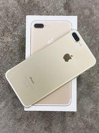 Iphone 7plus 128г в идеальном состояний с коробкой документами зарядка