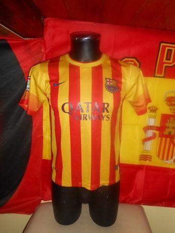 tricou fotbal barcelona #11 neymar jr nike sezon 2013-2014 marimea XS