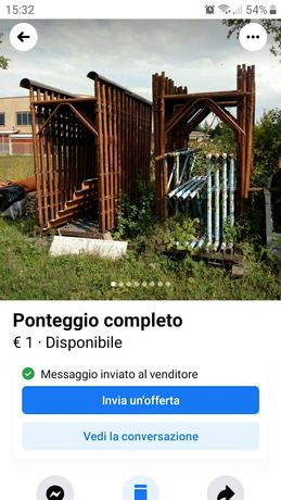 Schela metalica Italia tel 00393294912343
