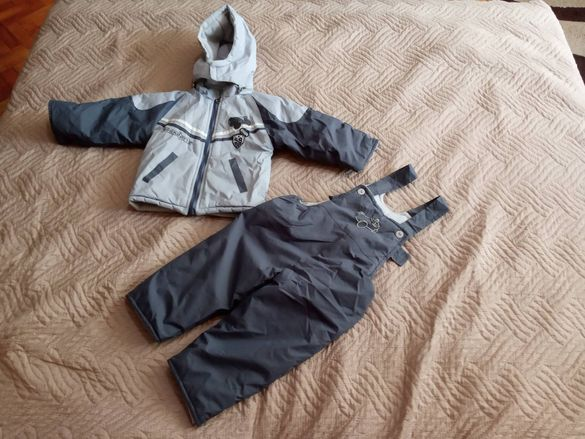 Детски зимен комплект - яке и грейка