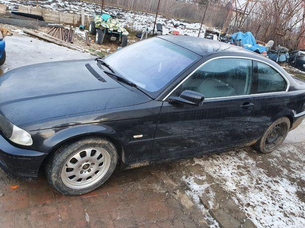 Dezmembrez BMW e46 coupe 320CI 2003 2.2 benzina